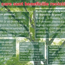 Beneficiile reciclarii